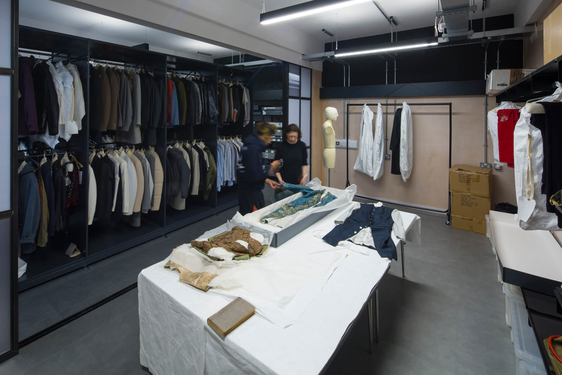 Inside The University Of Westminster Menswear Archive Capital West London